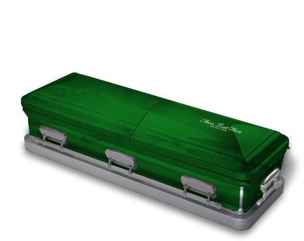 Emerald Green Casket Wrap