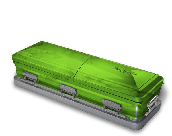 Lime Green Casket Wrap