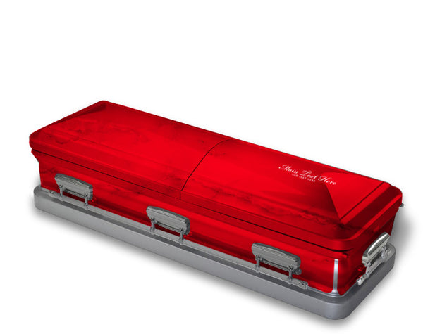 Ruby Red Casket Wrap