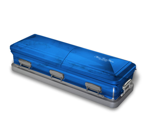 Royal Blue Casket Wrap