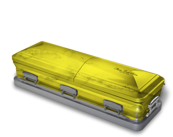 Bright Yellow Casket Wrap
