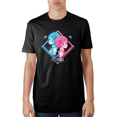 Re:Zero Black T-Shirt - Online Aesthetic -  Tumblr Kawaii Aesthetic Shop Fashion