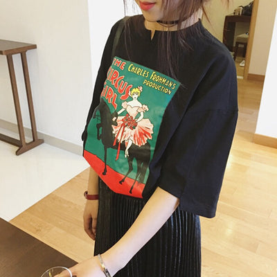 The Circus Girl T-Shirt - Online Aesthetic -  Tumblr Kawaii Aesthetic Shop Fashion