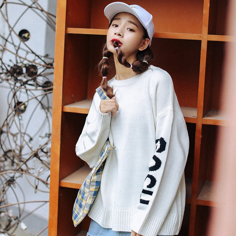 GOSH Printed Sweaters -  - Online Aesthetic Shop - 1