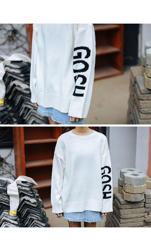 GOSH Printed Sweaters -  - Online Aesthetic Shop - 7