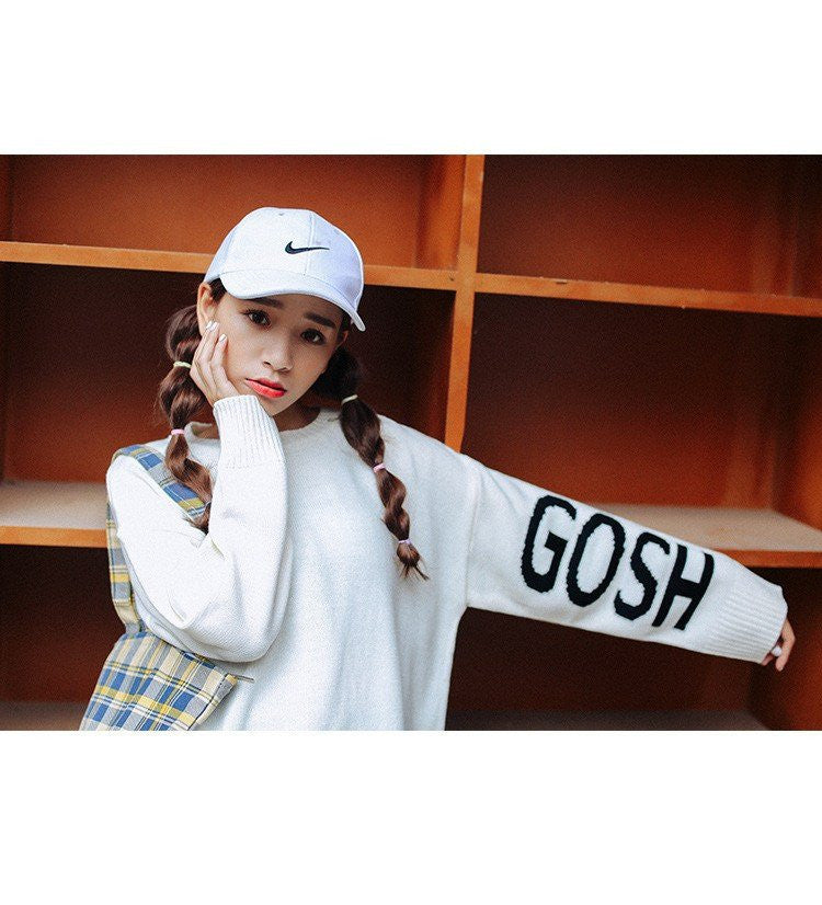 GOSH Printed Sweaters -  - Online Aesthetic Shop - 10