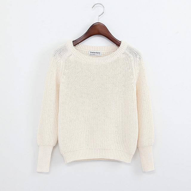 Simple One Tone Wool Pullovers (Multiple Colours) -  - Online Aesthetic Shop - 15