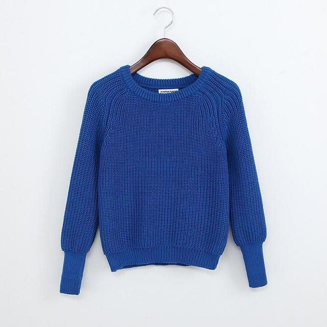 Simple One Tone Wool Pullovers (Multiple Colours) -  - Online Aesthetic Shop - 14