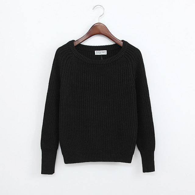 Simple One Tone Wool Pullovers (Multiple Colours) -  - Online Aesthetic Shop - 9