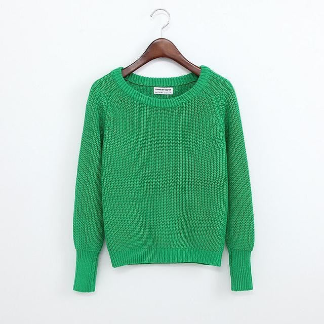 Simple One Tone Wool Pullovers (Multiple Colours) -  - Online Aesthetic Shop - 5
