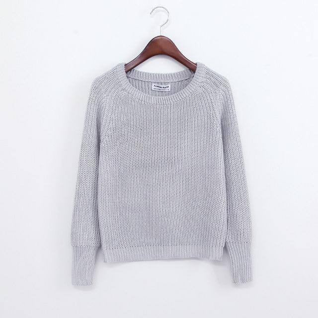 Simple One Tone Wool Pullovers (Multiple Colours) -  - Online Aesthetic Shop - 4