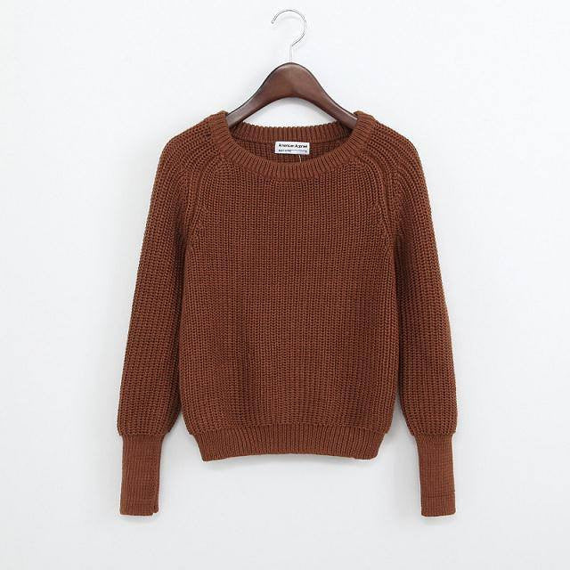Simple One Tone Wool Pullovers (Multiple Colours) -  - Online Aesthetic Shop - 13