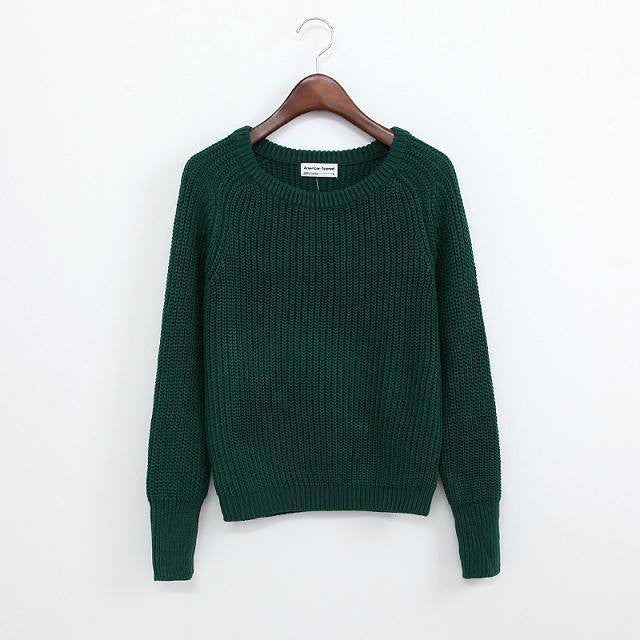 Simple One Tone Wool Pullovers (Multiple Colours) -  - Online Aesthetic Shop - 11