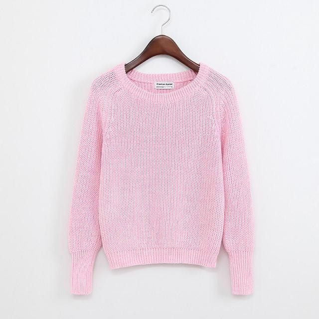 Simple One Tone Wool Pullovers (Multiple Colours) -  - Online Aesthetic Shop - 6