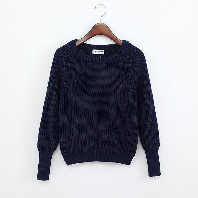 Simple One Tone Wool Pullovers (Multiple Colours) -  - Online Aesthetic Shop - 10