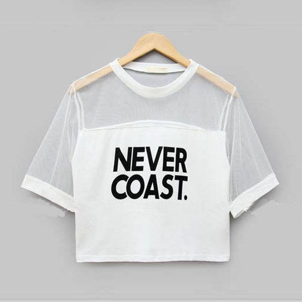 Never Coast. T-Shirt -  - Online Aesthetic Shop - 1