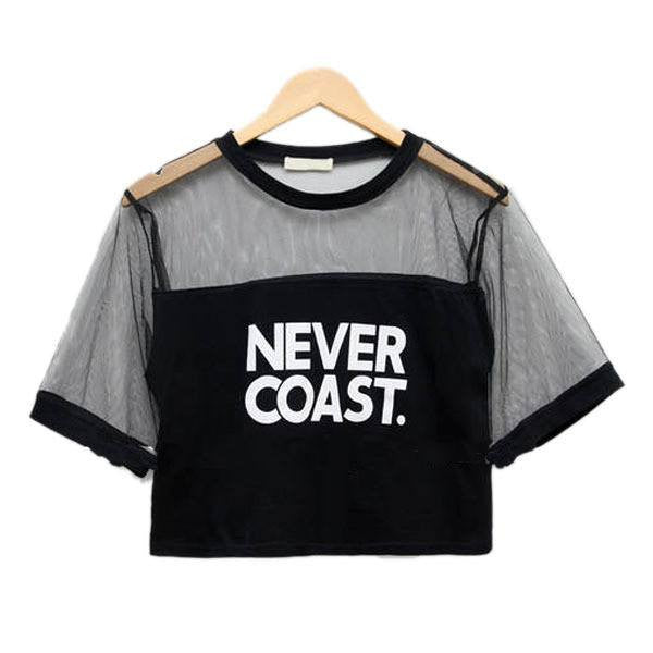 Never Coast. T-Shirt -  - Online Aesthetic Shop - 7