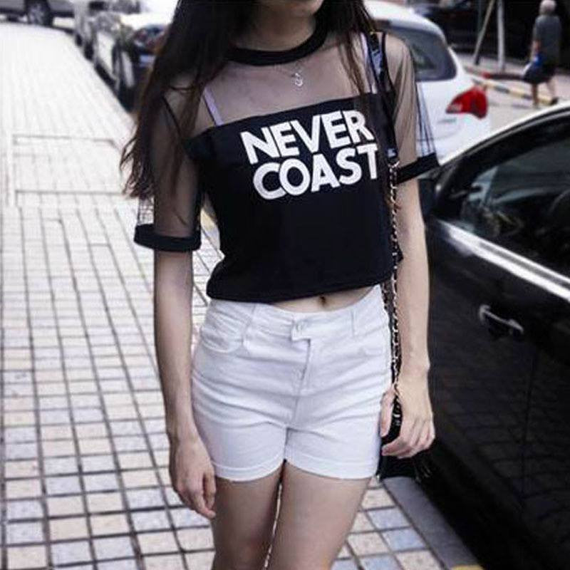 Never Coast. T-Shirt -  - Online Aesthetic Shop - 5