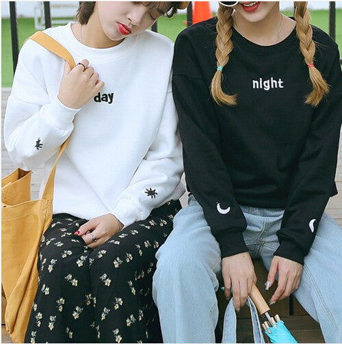 Night and Day Pullover -  - Online Aesthetic Shop - 1