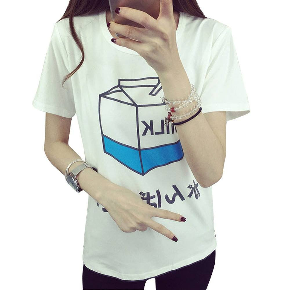 MILK T-Shirt -  - Online Aesthetic Shop - 3