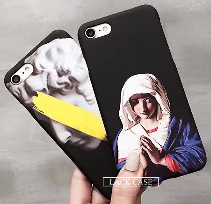 Baroque Art iPhone Cases