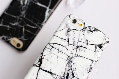 B&W Marble iPhone Cases - Online Aesthetic -  Tumblr Kawaii Aesthetic Shop Fashion