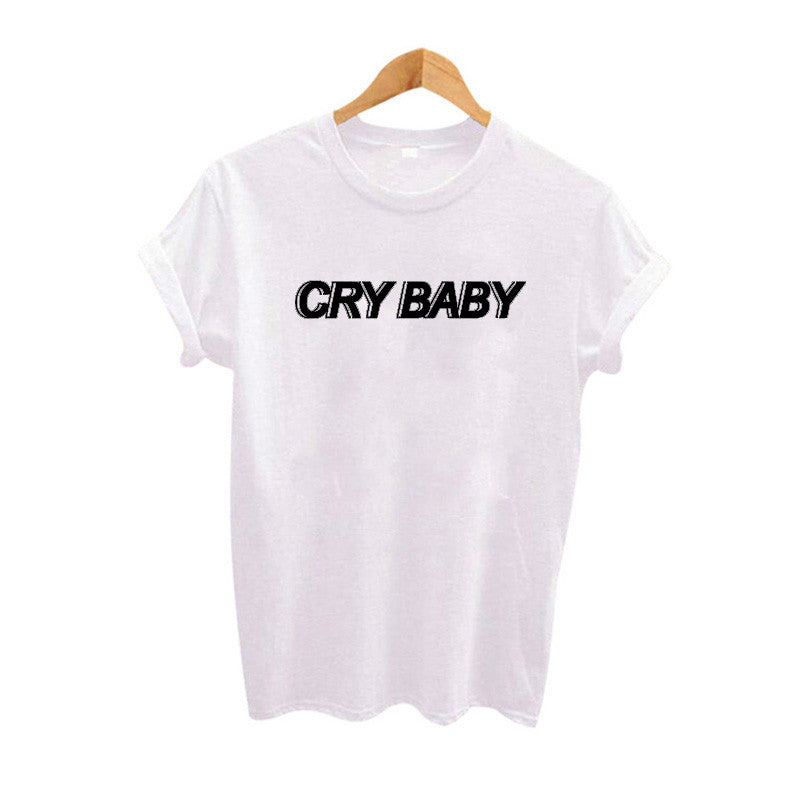 Cry Baby T-Shirt - Online Aesthetic -  Tumblr Kawaii Aesthetic Shop Fashion