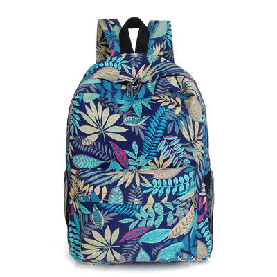 Tropical Plant Print Backpack - Online Aesthetic -  Tumblr Kawaii Aesthetic Shop Fashion