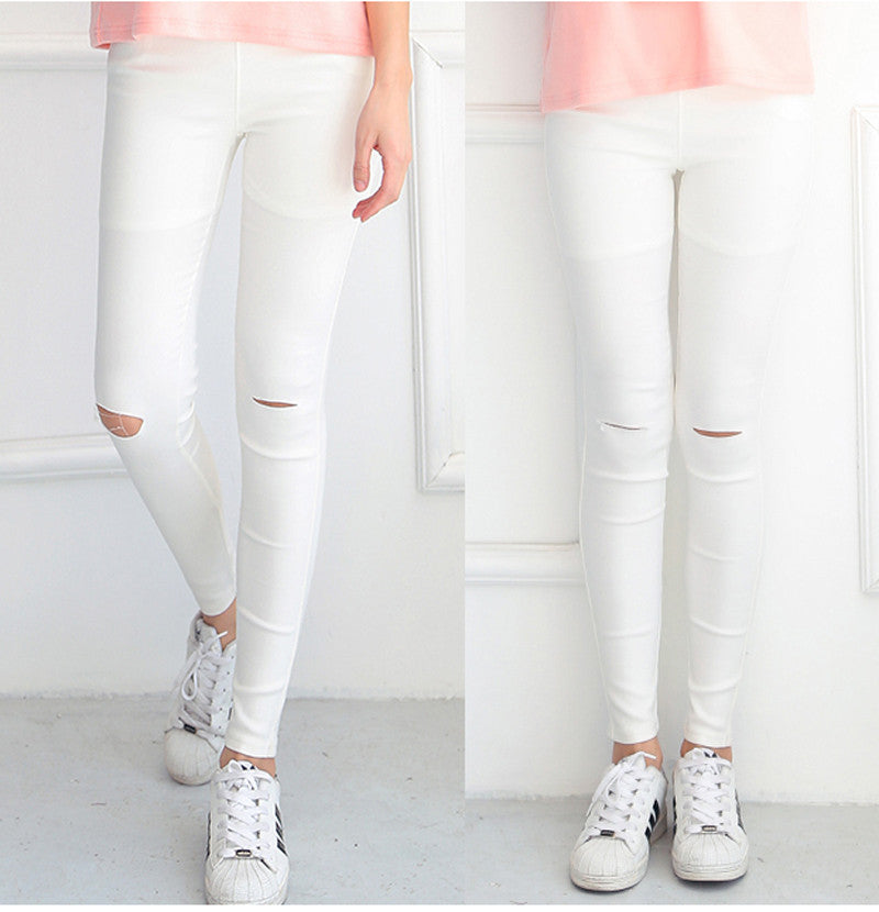 Skinny Ripped Jeans - Online Aesthetic -  Tumblr Kawaii Aesthetic Shop Fashion