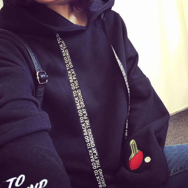 Go Back to the Playground Hoodie - Online Aesthetic -  Tumblr Kawaii Aesthetic Shop Fashion