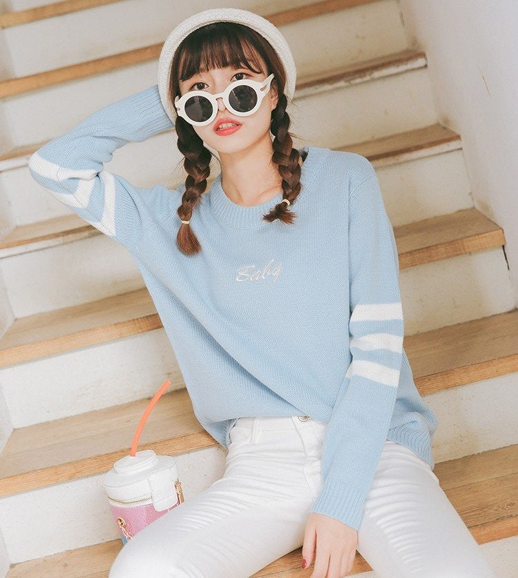 Pastel Baby Pullover -  - Online Aesthetic Shop - 13