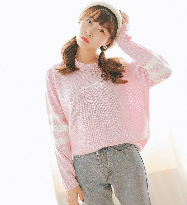 Pastel Baby Pullover -  - Online Aesthetic Shop - 18