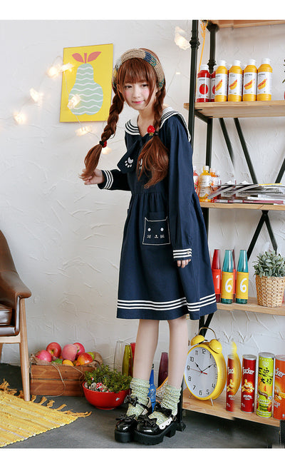 Kawaii Neko Dress - Online Aesthetic -  Tumblr Kawaii Aesthetic Shop Fashion