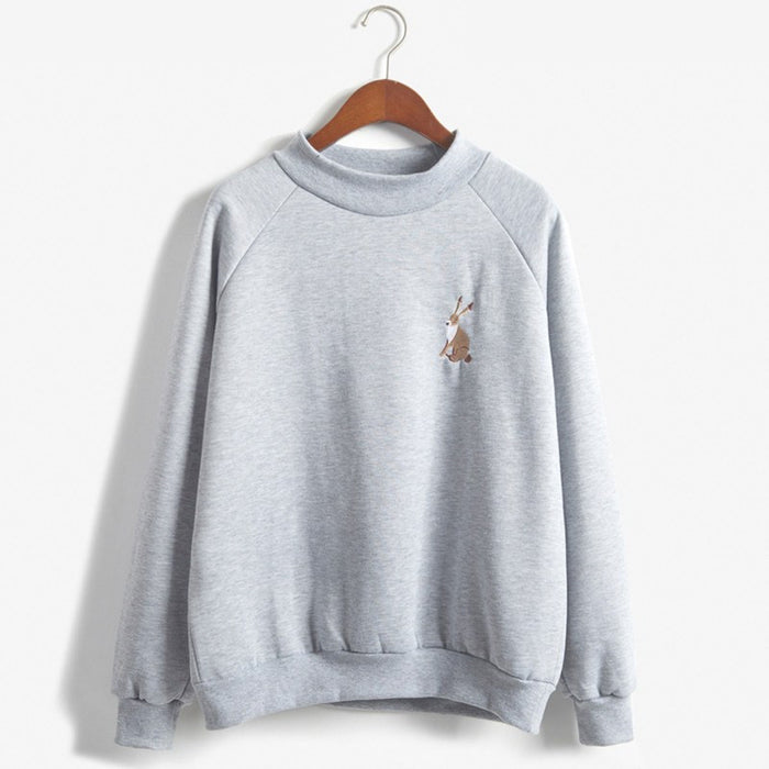 Little Rabbit Pullover - Online Aesthetic
