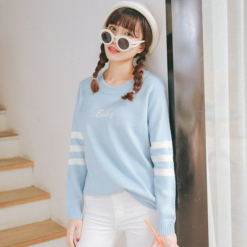 Pastel Baby Pullover -  - Online Aesthetic Shop - 12