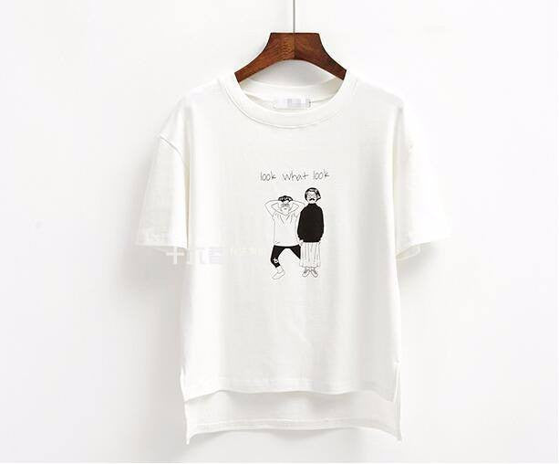 Look. What? Look! T-Shirt -  - Online Aesthetic Shop - 2