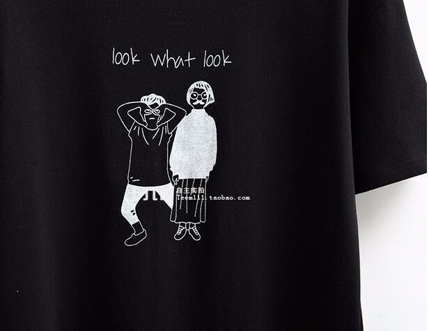 Look. What? Look! T-Shirt -  - Online Aesthetic Shop - 6