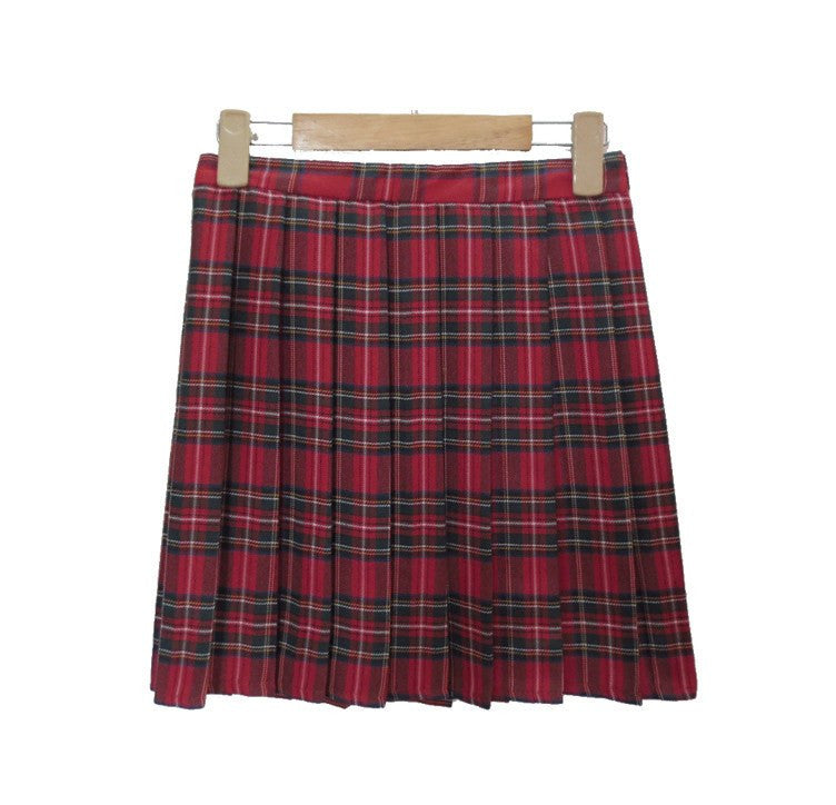 Plaid Patternered Skirts -  - Online Aesthetic Shop - 4