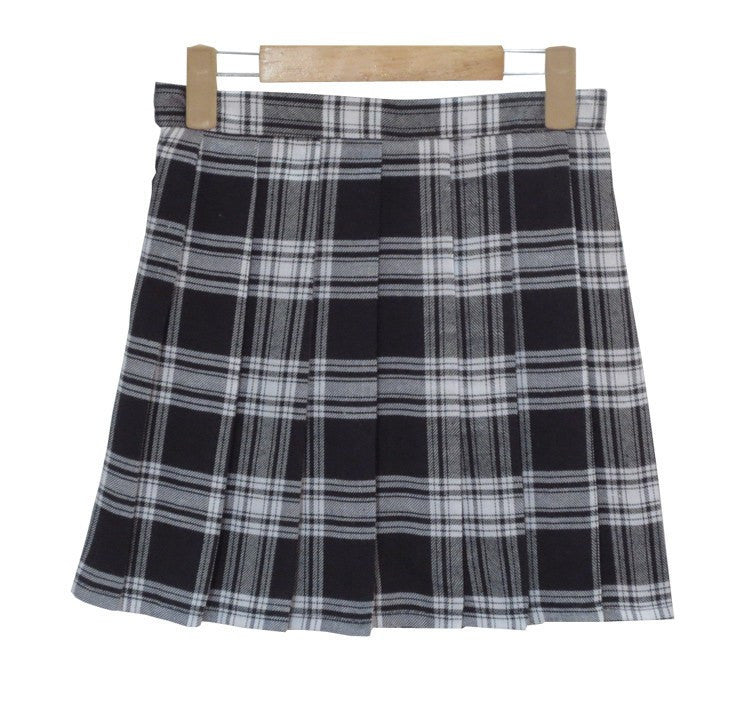 Plaid Patternered Skirts -  - Online Aesthetic Shop - 2