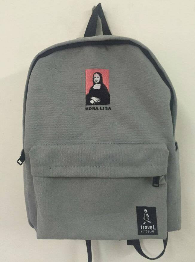 Art Backpacks - Online Aesthetic