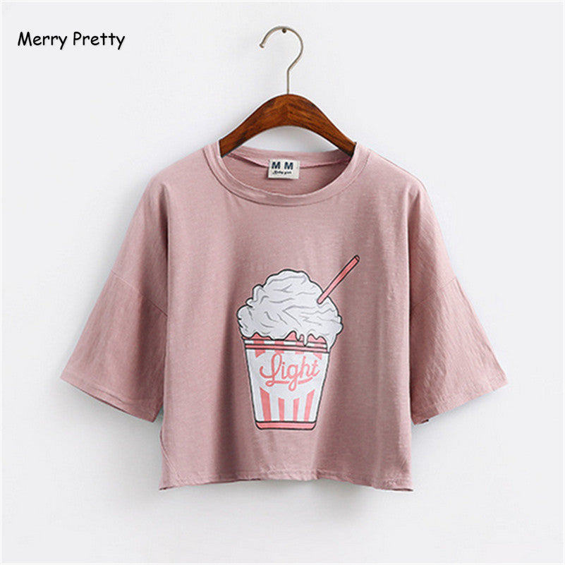 Korean style Ice cream T shirt - Online Aesthetic -  Tumblr Kawaii Aesthetic Shop Fashion