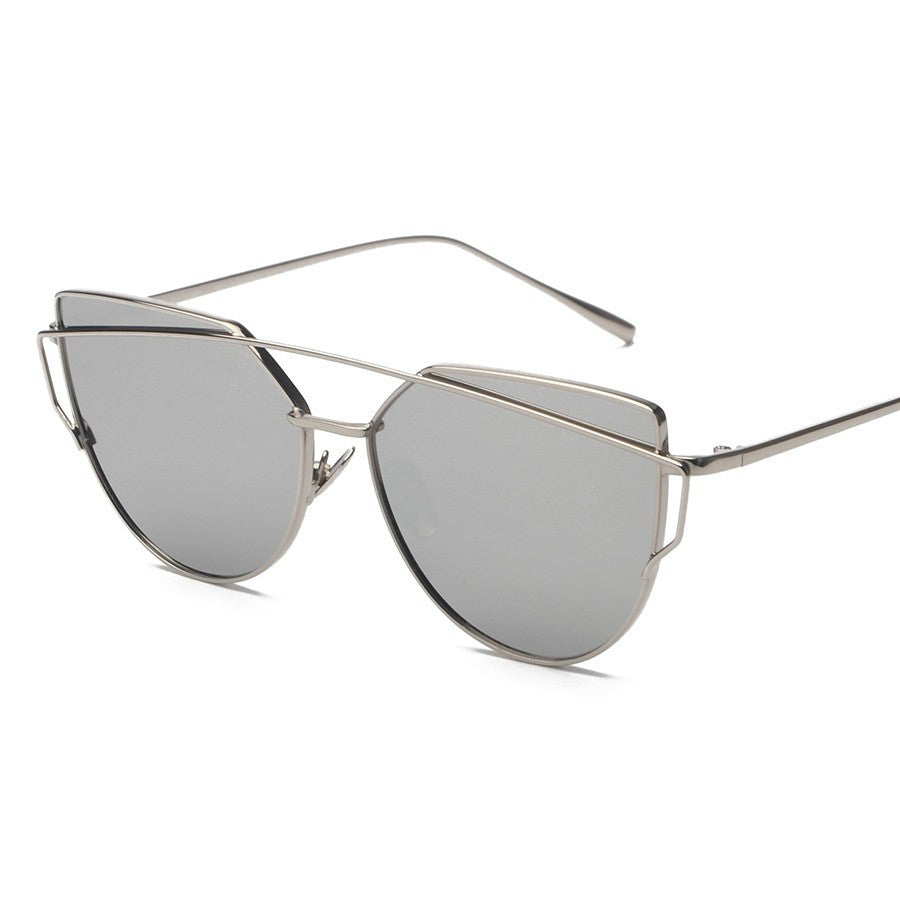 Metal Frame Tinted Sunglasses -  - Online Aesthetic Shop - 5
