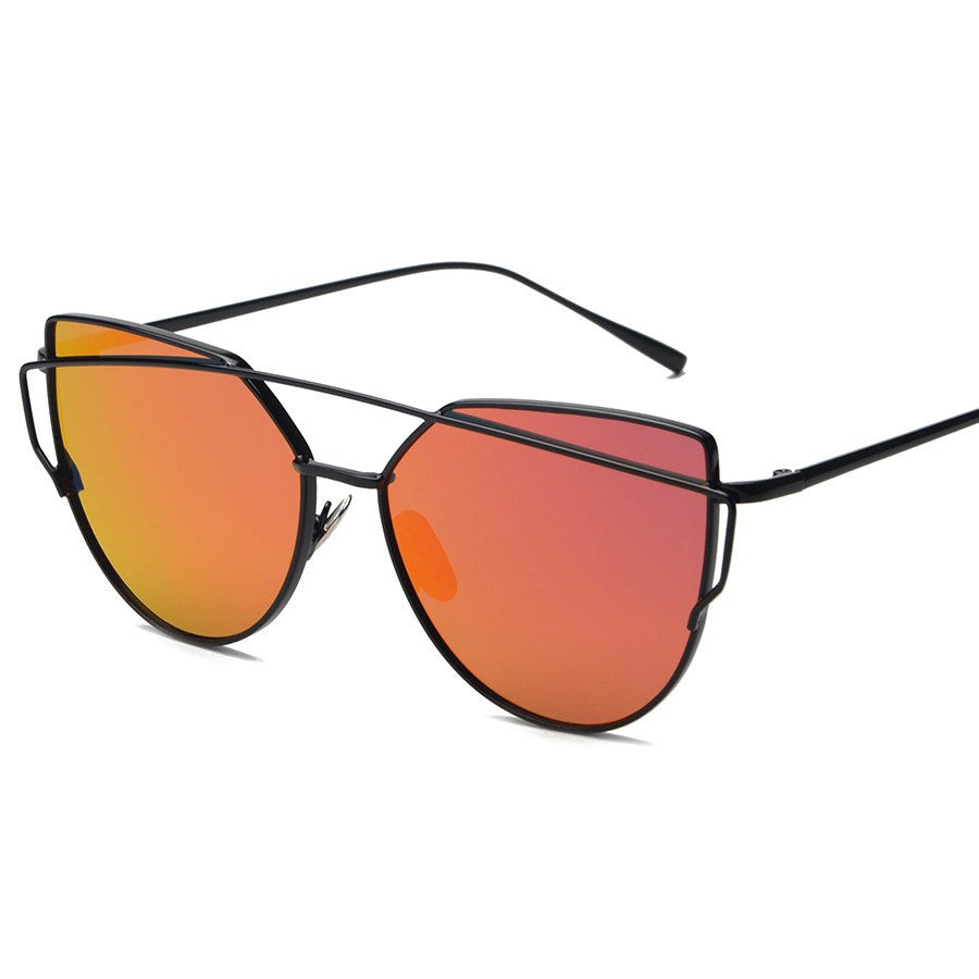 Metal Frame Tinted Sunglasses -  - Online Aesthetic Shop - 8
