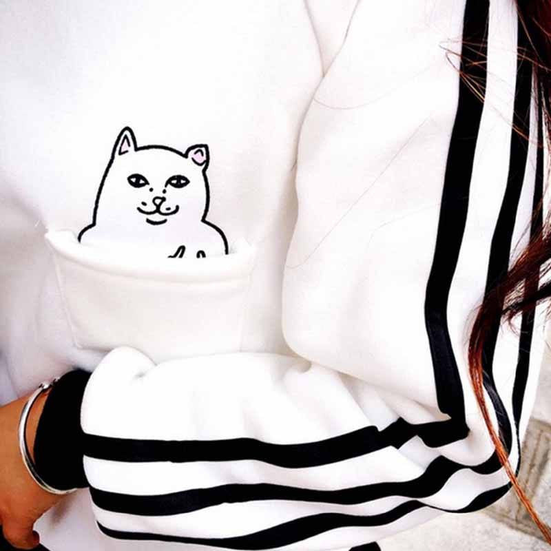 Sneaky Cat Sweater -  - Online Aesthetic Shop - 3