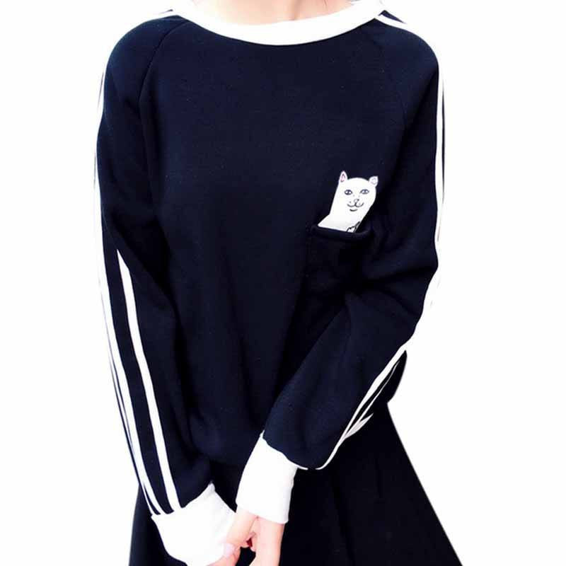 Sneaky Cat Sweater -  - Online Aesthetic Shop - 4