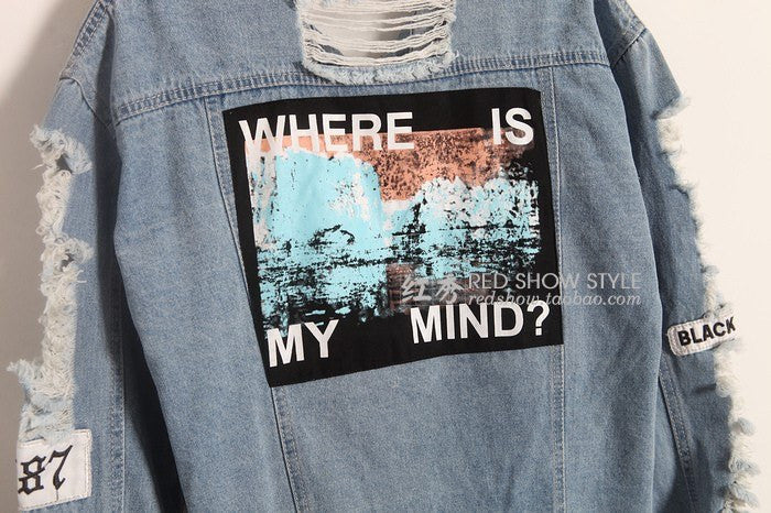 Where Is My Mind Bomber Jacket -  - Online Aesthetic Shop - 6