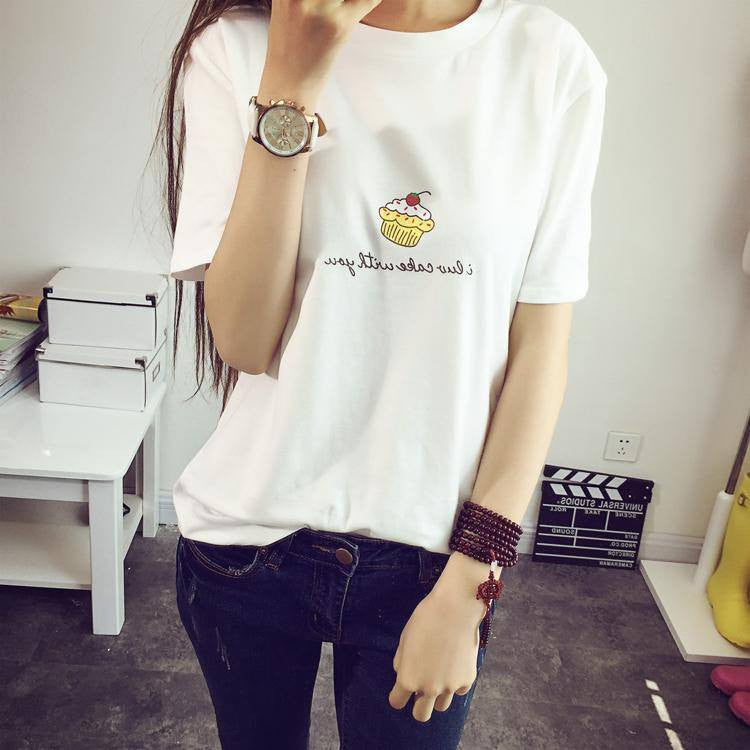 Little Cake T-Shirt -  - Online Aesthetic Shop - 19