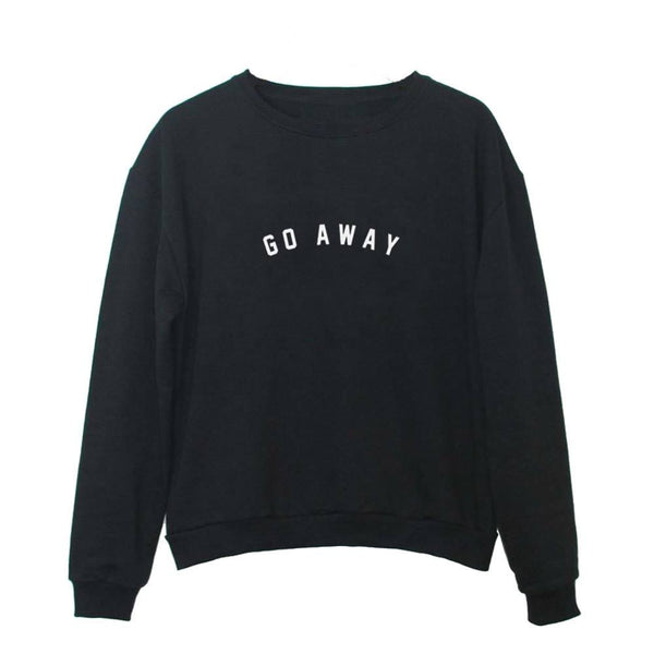 Go Away Sweatshirts -  - Online Aesthetic Shop - 2