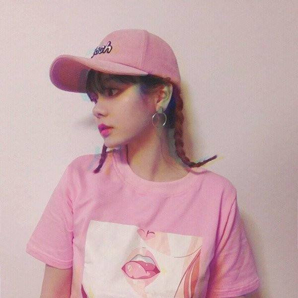 Pink Lips O-neck T-Shirt -  - Online Aesthetic Shop - 5