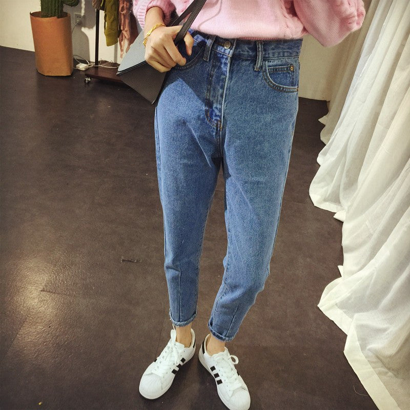 Retro Straight Leg Jeans -  - Online Aesthetic Shop - 10